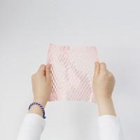 핑크 아코디언 포장지(5개)