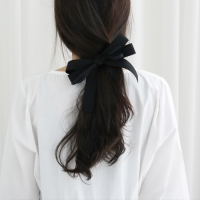 Feminine ribbon hairpin