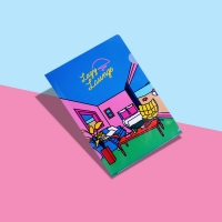 [LUCALAB x Camper] Retro File Holder 레트로 파일 홀더