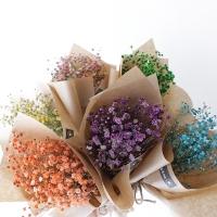 컬러 안개꽃 미니 꽃다발(6컬러)