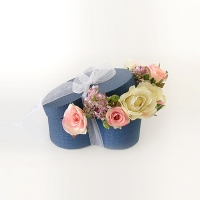 하트 로맨틱 조화 박스(소)