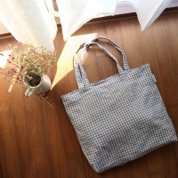 [haku.haru] check big bag