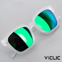 브이선 VCS5 브이클릭 명품 뿔테 미러 선글라스 VCS5-FOFO-WH-MGR /