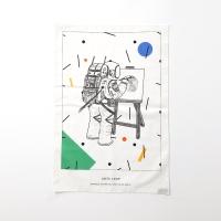 astronaut fabric poster