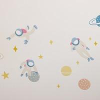 월 데코 스티커 - 03 유니버스(야광)