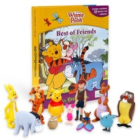 Disney Winnie the Pooh Best of Friends My Busy Book 피규어북