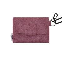 멜팅 펠트 리본 card pocket (인디핑크)