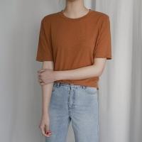 린넨 컬러 티셔츠 (5-COLORS)