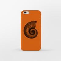 Ammonite Fossil 아이폰 하드케이스