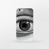 Chaplin eyes Pattern 아이폰 하드케이스