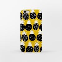 Black Pineapple 아이폰 하드케이스