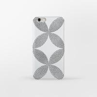 White Pointage 아이폰 하드케이스