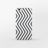 Zigzag Modern Cube 아이폰 하드케이스