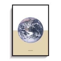 북유럽 인테리어 포스터 액자 지구 EARTH