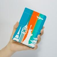 [문구서비스] 세계여행 여권 케이스