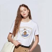 [유라고]럭비 프린팅 반팔티셔츠
