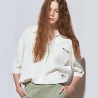 [유라고]레터링 피케이 티셔츠