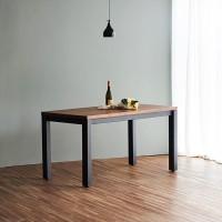 디웰 아카시아 러스틱원목 1400 테이블(단품)
