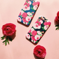 Midnight Bloom for Phonecase 하드/범퍼 [플래네틸]