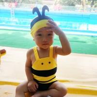 노랑꿀벌 수영복