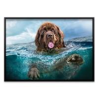 1000조각 직소퍼즐▶ 강아지의 바다 수영 (LD103478)