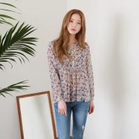 Lovely mood v-neck blouse