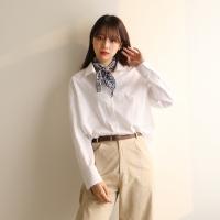 Nomal fit cotton shirt