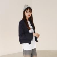 Short linen jacket
