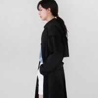Basic cotton trench coat