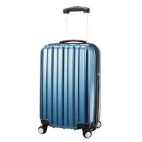 스트라이프(Stripe) 24형-블루브러쉬 캐리어 여행가방