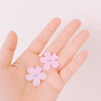 벚꽃송이_브로치/마그넷/소프트펜