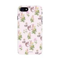 봄시리즈 핸드폰케이스-핑크토끼 패턴