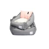 [monchouchou] Cradle Sofa Bed_Pink Pillow S