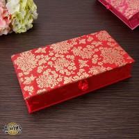 천년국화 비단 예단상자-빨강색_(1177568)