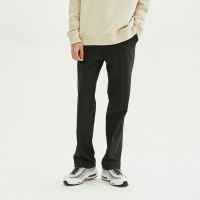 Solid Wide Trouser (Black)