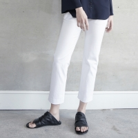 S/S Pencil Pants - White