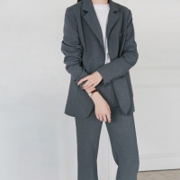 Daily modern basic suit set