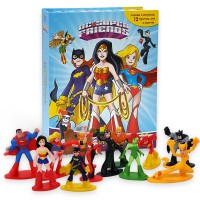 DC Super Friends Girls My Busy Book 피규어북