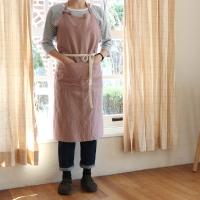 [haku.haru] simply linen apron