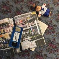 Vintage video tape 빈티지 비디오 테이프 블루 투명 젤리 케이스
