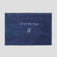 Definition Mat(마이크로 화이바 발매트) - 리치네이비
