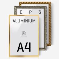 에이모노 A4 액자 - 골드,실버