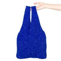 twinkle knit bag blue
