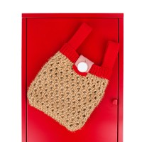 twinkle color mini bag red