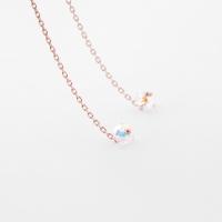 [쥬디앤폴]이사벨 컷팅 크리스탈 드롭 귀걸이 E41415