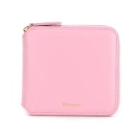 Fennec Zipper Wallet - Pinky Pink
