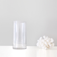 투명 원형 유리병(10x20)