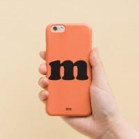 Sunbaked Orange 아이폰 하드케이스