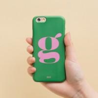 Green Pink 아이폰 하드케이스