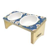 패턴 15도 식탁(아네모네꽃-블루)